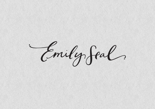 Emily Seal Justine Ma Design Amp Hand Lettering
